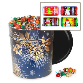 Glowing Pine Hershey's Holiday Mix Tin - 20 lb