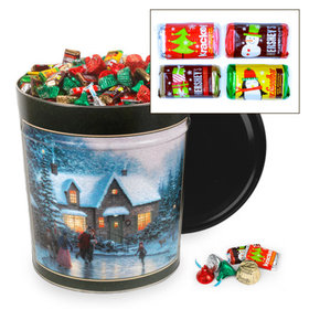 Skater's Pond Hershey's Holiday Mix Tin - 20 lb