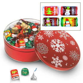 Sweet Snowflakes Hershey's Holiday Mix Tin - 3 lb