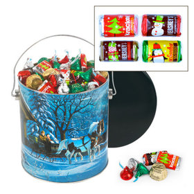 Through the Woods Hershey's Holiday Mix Tin - 5 lb