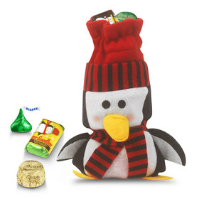 Little Red Penguin Bag Hershey's Holiday Mix