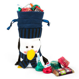 Little Blue Penguin Bag Hershey's Holiday Mix