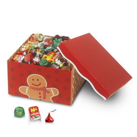 Can't Catch Me Gingerbread Lg Hershey's Holiday Mix Box