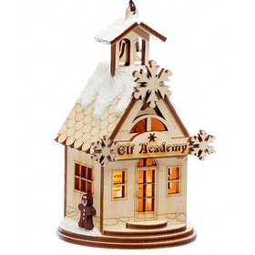 Personalized Elf Academy Christmas Ornament