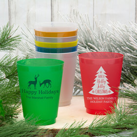 Personalized Christmas 16oz Shatterproof Cup
