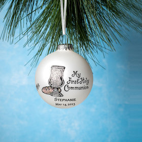 Personalized My First Holy Communion Christmas Ornament