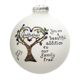 Godfather Family Tree Christmas Ornament