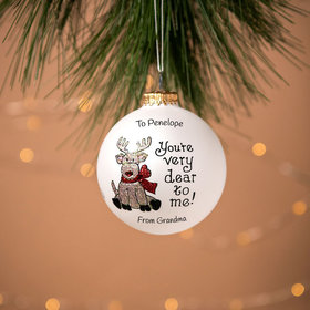 Personalized You're Very Dear To Me Christmas Ornament
