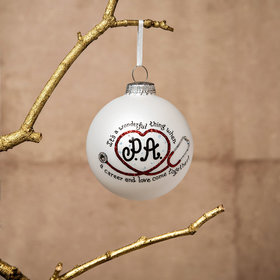 Personalized PA Medical Love Christmas Ornament