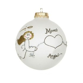 Mom's Angel Christmas Ornament