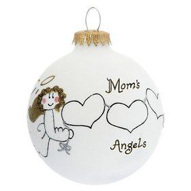 Mom's 3 Angels Christmas Ornament