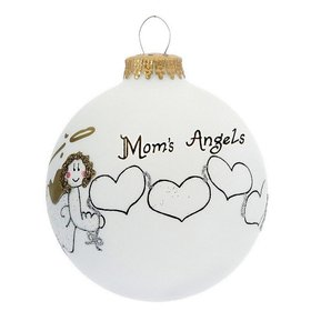 Mom's 4 Angels Christmas Ornament