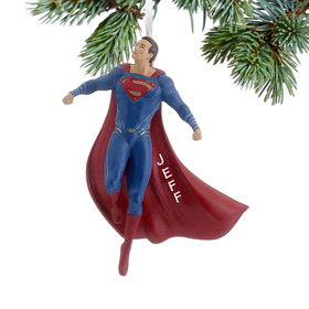 Personalized Superman Dawn of Justice Christmas Ornament