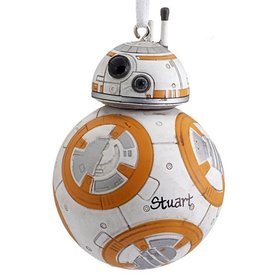 Personalized Star Wars BB-8 Christmas Ornament