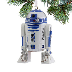Personalized Star Wars R2-D2 Christmas Ornament