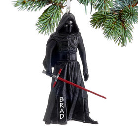 Personalized Star Wars Kylo Ren Christmas Ornament