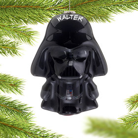 Personalized Star Wars Cartoon Darth Vader Christmas Ornament