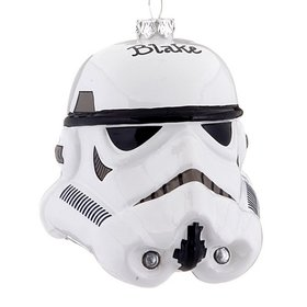 Personalized Star Wars Stormtrooper Helmet Christmas Ornament