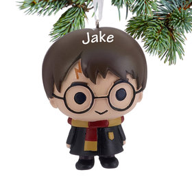 Personalized Harry Potter Christmas Ornament