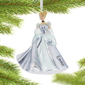 Personalized Princess Cinderella Christmas Ornament