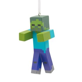 Personalized Minecraft Zombie Christmas Ornament