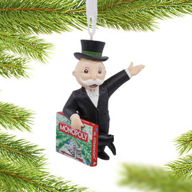 Personalized Monopoly Game Christmas Ornament
