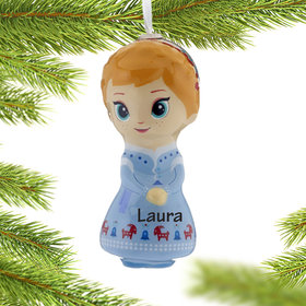 Personalized Frozen Anna Christmas Ornament
