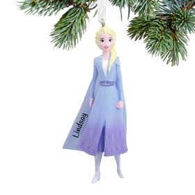 Personalized Elsa Frozen Christmas Ornament