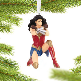 Personalized Wonder Woman 84 Christmas Ornament