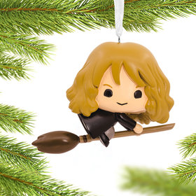 Hermione on Broom Harry Potter Christmas Ornament