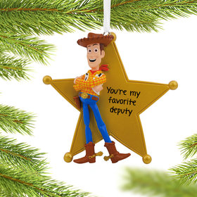 Personalized Toy Story Woody Christmas Ornament