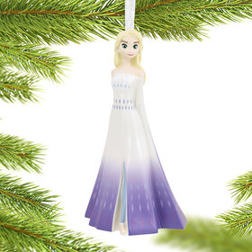 Elsa Frozen Christmas Ornament