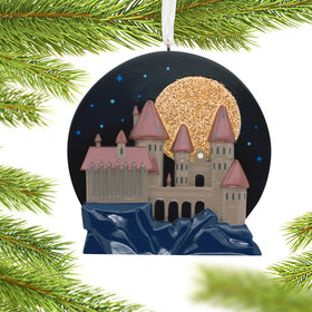 Harry Potter Hogwart's Castle Christmas Ornament
