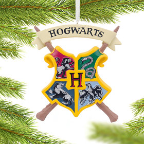 Harry Potter Hogwarts Crest Christmas Ornament