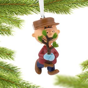 Charlie Brown Christmas Tree Christmas Ornament