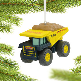 Tonka Dump Truck Christmas Ornament