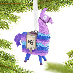 Fortnite Llama Christmas Ornament