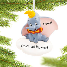 Personalized Dumbo Christmas Ornament