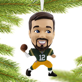 NFL Green Bay Packers Aaron Rodgers Christmas Ornament