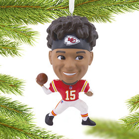 NFL Kansas City Chiefs Patrick Mahomes Christmas Ornament