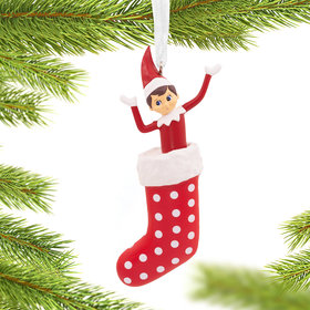 Elf on the Shelf Christmas Ornament