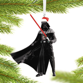 Star Wars Darth Vader Santa Hat Christmas Ornament