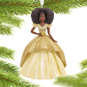 Holiday Barbie Christmas Ornament