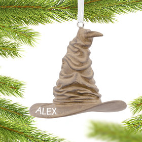 Personalized Harry Potter Sorting Hat Christmas Ornament
