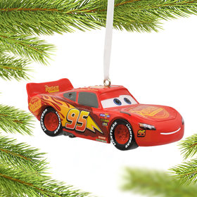 Lightning McQueen Christmas Ornament