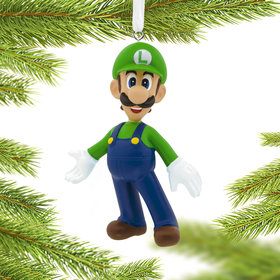 Nintendo Luigi Christmas Ornament