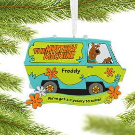 Personalized Scooby Doo Christmas Ornament