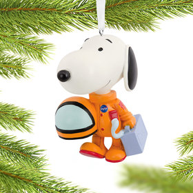 Snoopy Astronaut Christmas Ornament