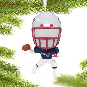 New England Patriots Christmas Ornament