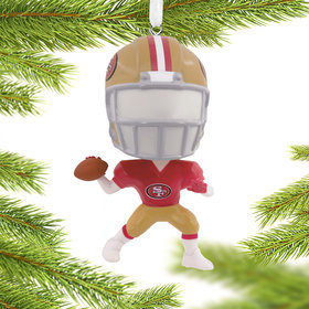 San Francisco 49ers Christmas Ornament